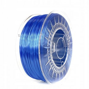 Filament Devil Design PLA SILK Blue / Błękitny 1,75 mm 1 kg