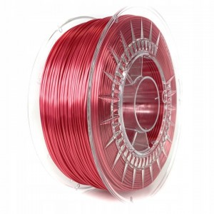 Filament Devil Design PLA SILK Red / Czerwony 1,75 mm 1 kg