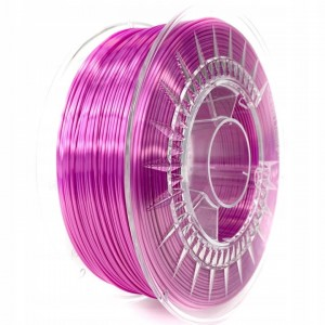 Filament Devil Design PLA SILK Bright Pink / Jasnoróżowy 1,75 mm 1 kg