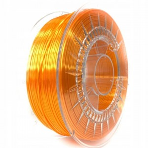 Filament Devil Design PLA SILK Bright Orange / Jasnopomarańczowy 1,75 mm 1 kg