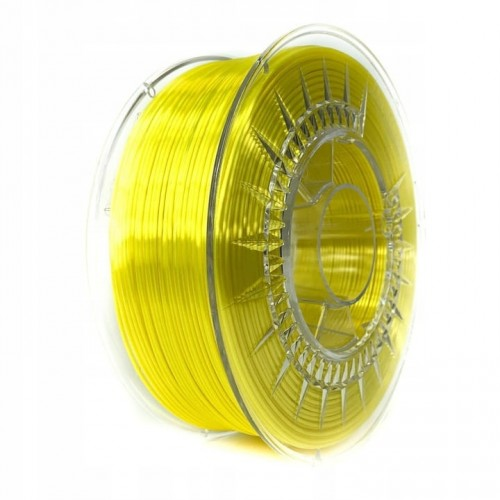 Filament Devil Design PLA SILK Bright Yellow / Jasnożółty 1,75 mm 1 kg